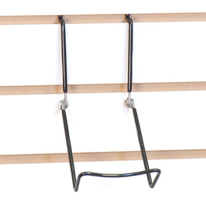 Slatwall Adjustable Easel - Black - Pack 5