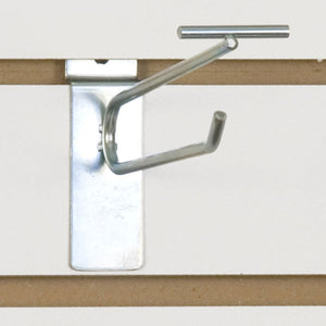 "Slatwall Scanner Hook - 6"" - Zinc - 100/Carton"