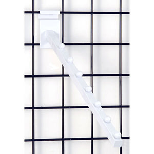 Square Gridwall 7-Ball Waterfall - White