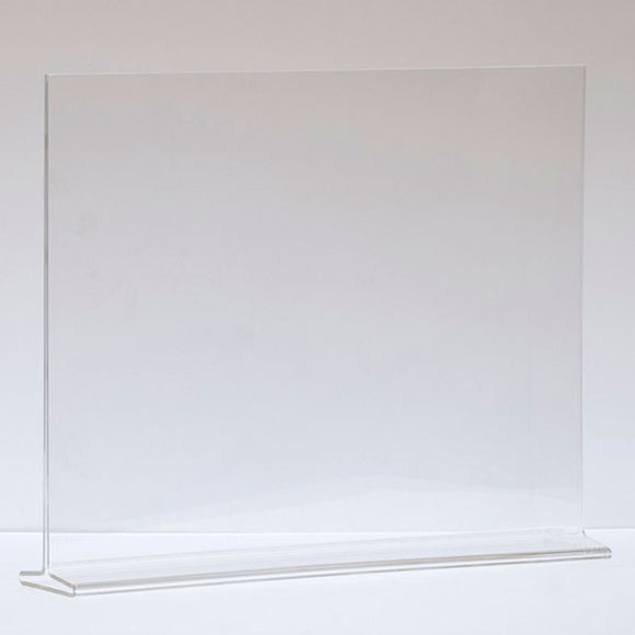 Top Load Acrylic Sign Holder - Horizontal - 11