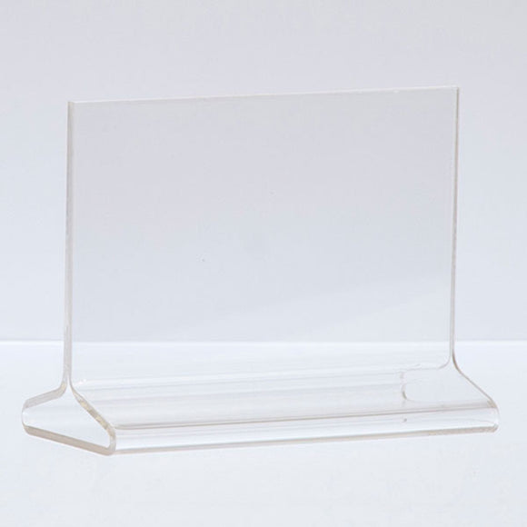 Top Load Acrylic Sign Holder - Horizontal - 5-1/2