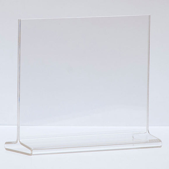 Top Load Acrylic Sign Holder - Horizontal - 7