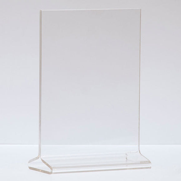 Top Load Acrylic Sign Holder - Vertical - 5-1/2