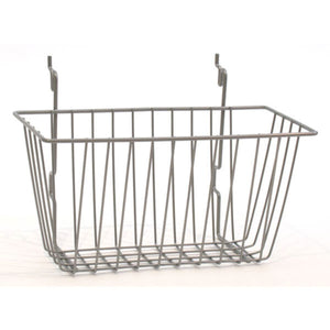 "Wire Basket - Universal Bracket - 12"" x 6"" x 6"" - PC Chrome"