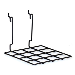 "Wire Shelf - Universal Bracket - 8"" x 8"" - Black"