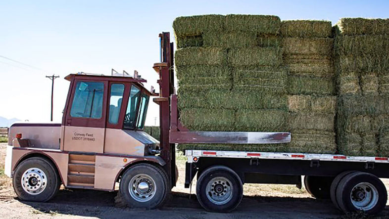 Conway Feed offers hay delivery to any location in the United States