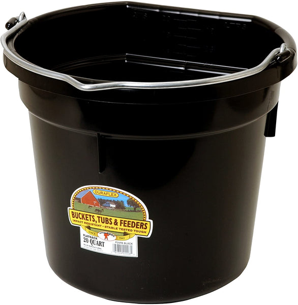Bucket Flat Back 20 QT