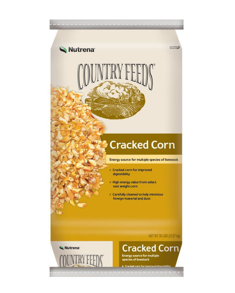 Country Feeds Cracked Corn-Conway Feed & Supply.