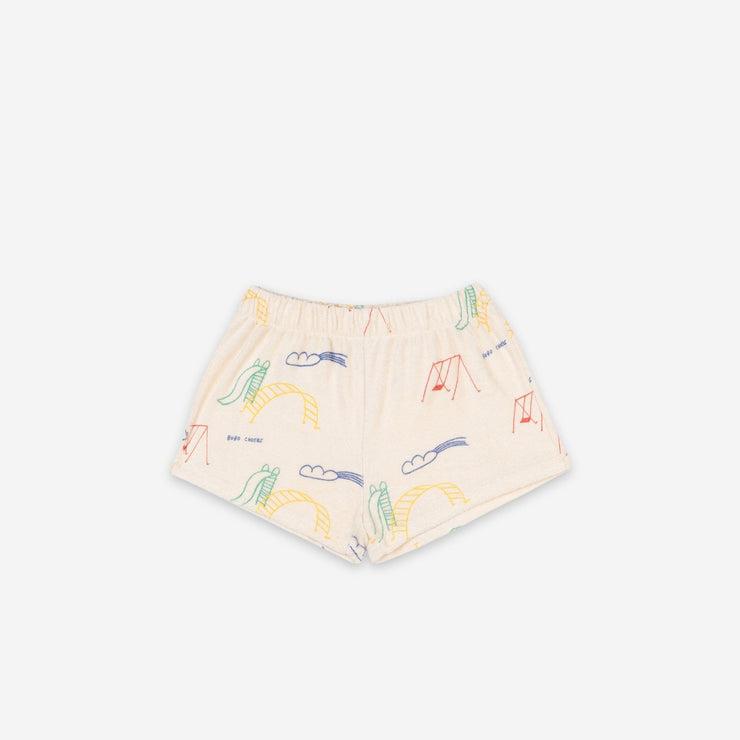 Bobo Choses Playground Terry Fleece Shorts