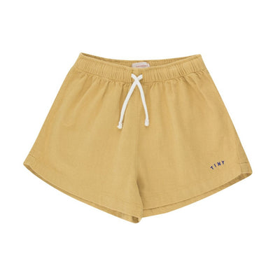 Tiny Cottons Solid Shorts in Sand