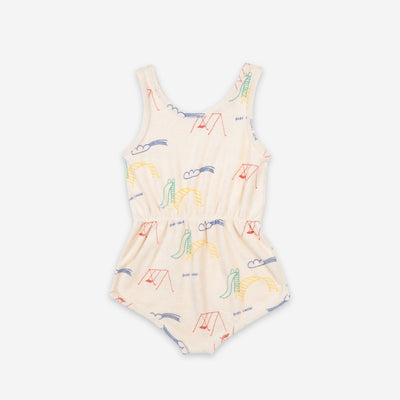 Bobo Choses Playground Terry Fleece Playsuit
