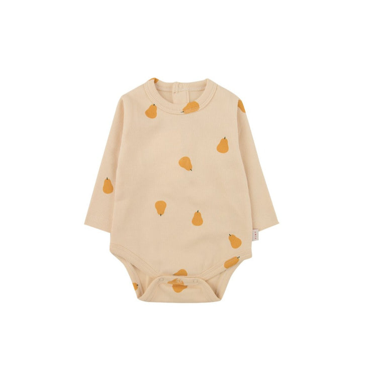 Pears Long Sleeve Bodysuit