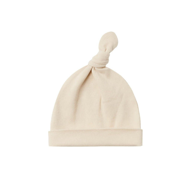 Quincy Mae Knotted Baby Hat - Natural