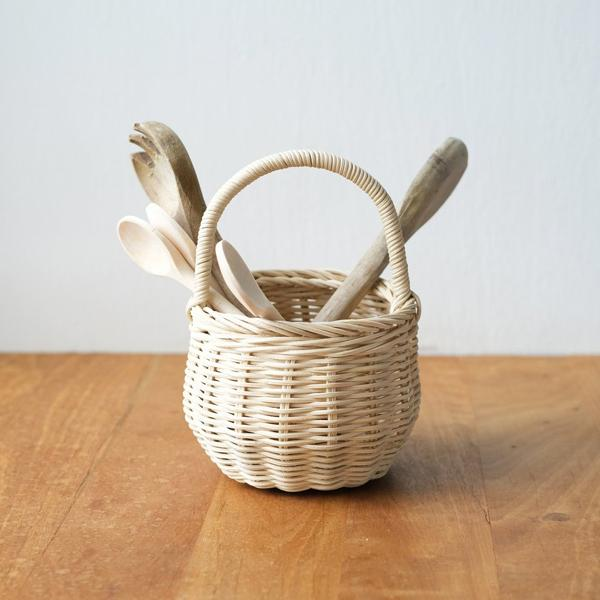 Rattan Berry Basket