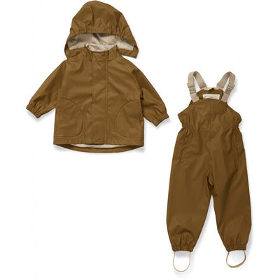 Konges Rainwear Set - Size 4Y