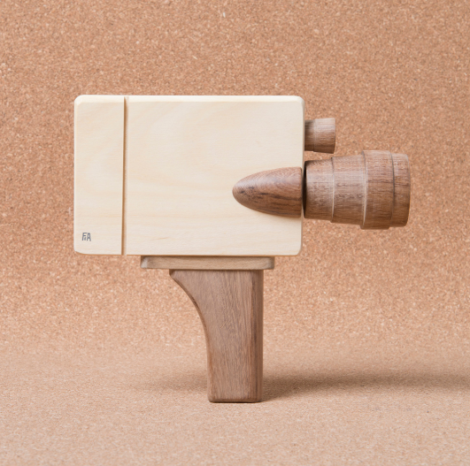 Wooden Movie Camera