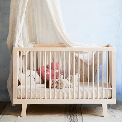 Oeuf Sparrow Crib in Birch