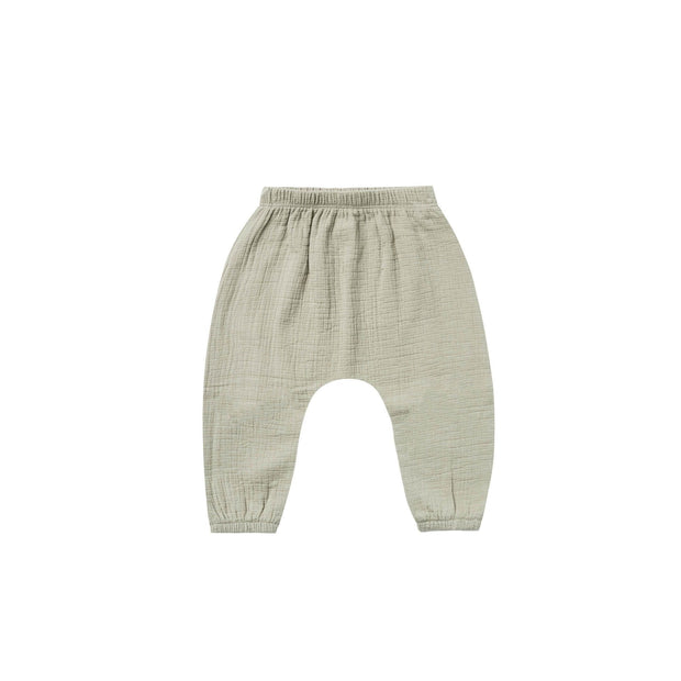 Quincy Mae Woven Pants - Sage