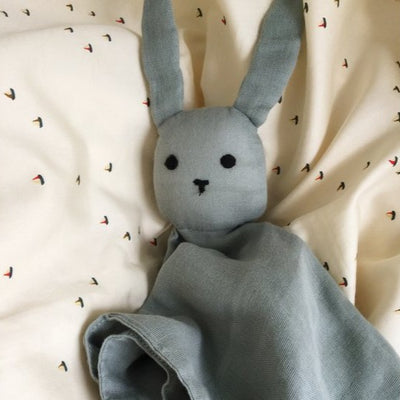 Konges Sleepy Rabbit - French Blue