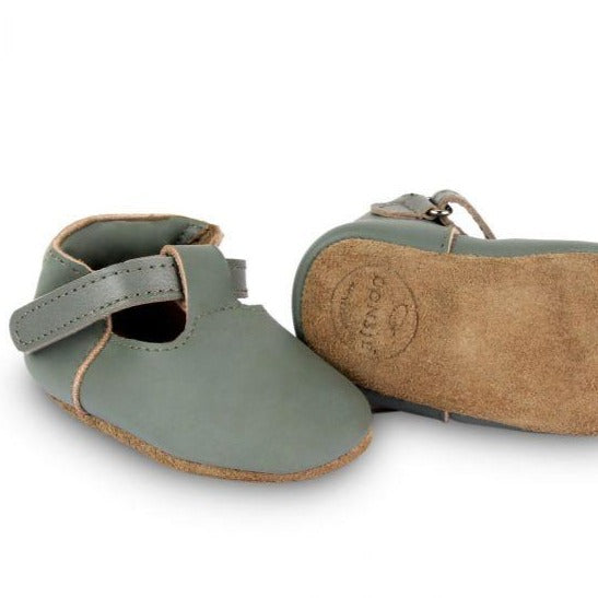 ELIA baby shoe - green bay leather