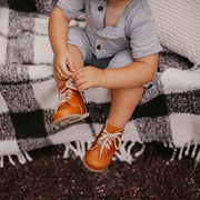 Milo Boot in Warm Brown