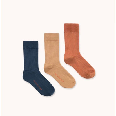 Tiny Cottons 3 Pack Ribbed Socks