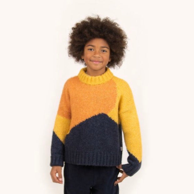 Fuji Color Block Sweater