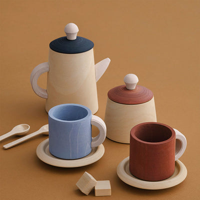 Raduga Grez Tea Set - Terra and Blue