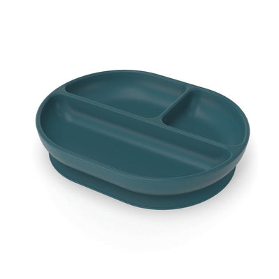 Ekobo Divided Suction Plate - Blue Abyss