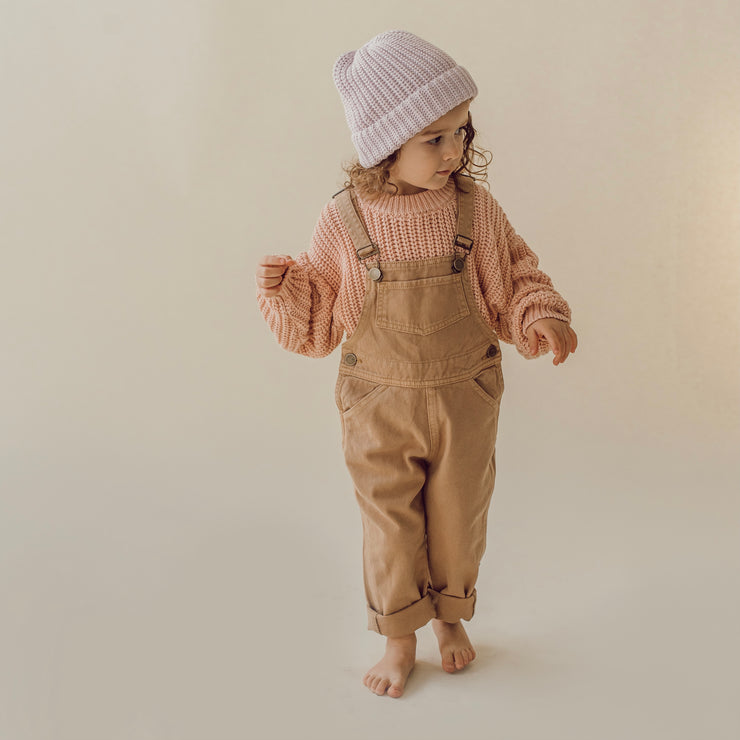 Little Urban Apparel - Tan Overalls