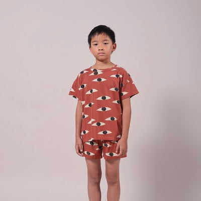 Bobo Choses Eyes Short Sleeve T-Shirt
