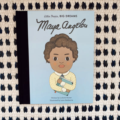 Maya Angelou (Little People Big Dreams)