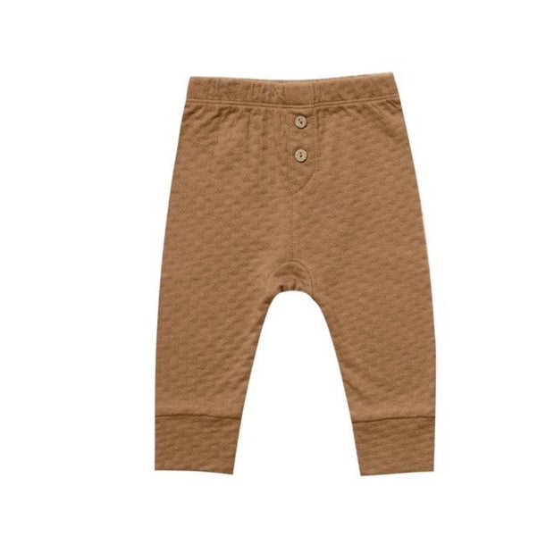 Pointelle Pant - Walnut