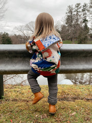 Quilted Toddler Backpack