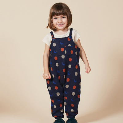 Night Knitted Jacquard Overall