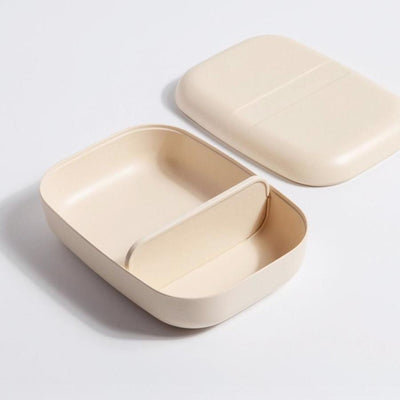 Ekobo Bento Lunch Box - Off White