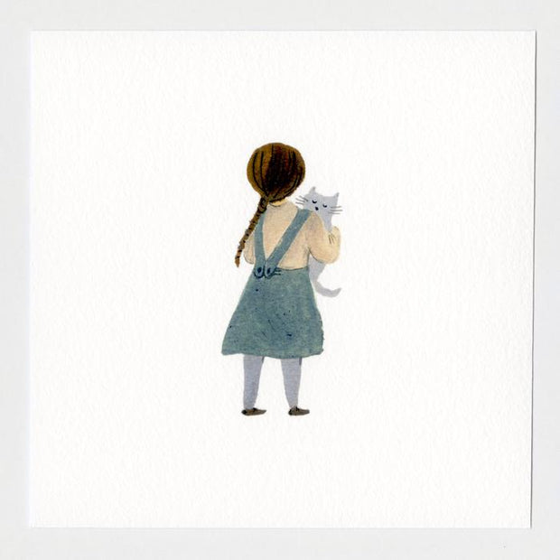 Sweet Friends 7x7 Print by Gemma Koomen