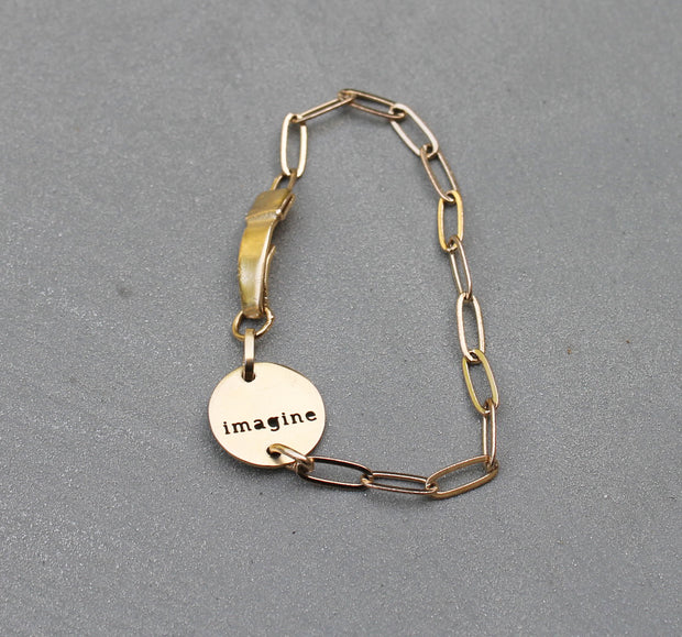 "CHAIN ""IMAGINE"" BRACELET"