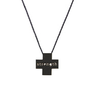 "PLUS ""STRENGTH"" NECKLACE"