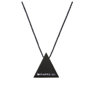 "TRIANGULAR ""BETWEEN US"" NECKLACE"