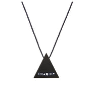 "TRIANGULAR ""IMAGINE"" NECKLACE"