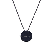 "CIRCLE ""SISTERS"" NECKLACE"