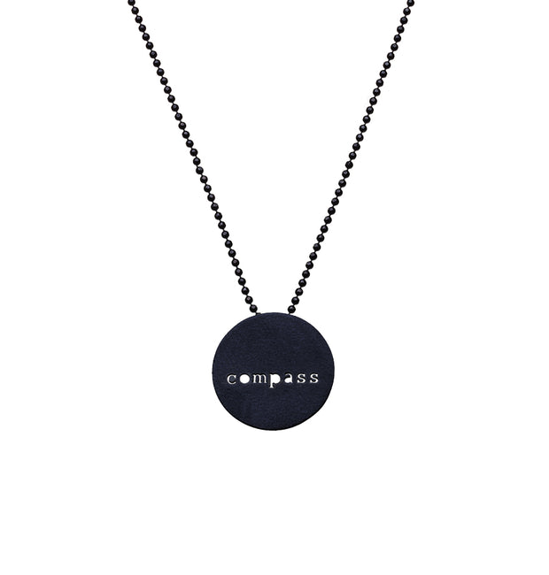 "CIRCLE ""COMPASS"" NECKLACE"