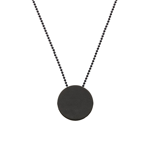 "CIRCLE ""SMOOTH"" NECKLACE"