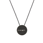 "CIRCLE ""STRENGHT"" NECKLACE"