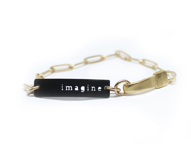 "CHAINE ""IMAGINE"" BRACELET"