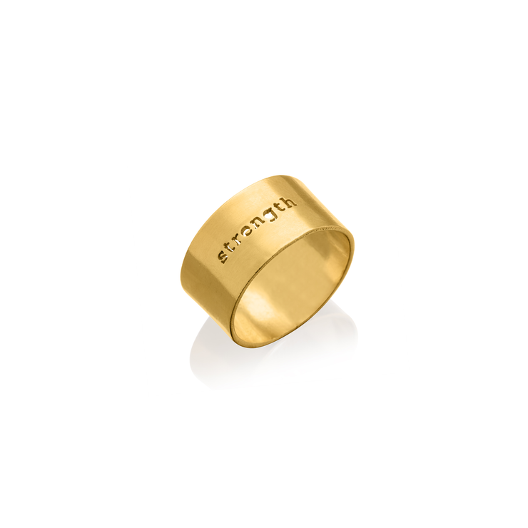"""STRENGTH"" RING"