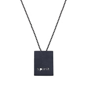 "RECTANGLE ""SPIRIT"" NECKLACE"