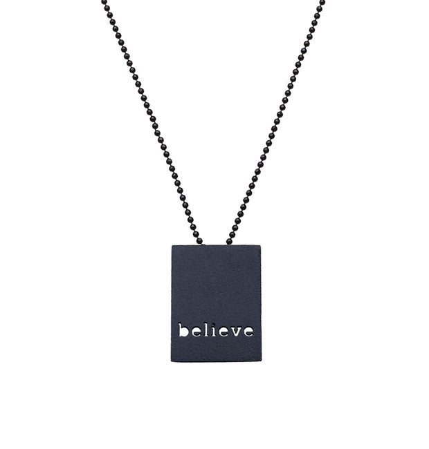 "MIX & MATCH - ""LOVE"" & ""BELIEVE"" NECKLACE"