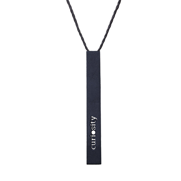 "RECTANGLE ""CURIOSITY"" NECKLACE (LONG)"